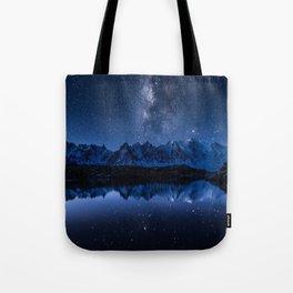 Night mountains Tote Bag