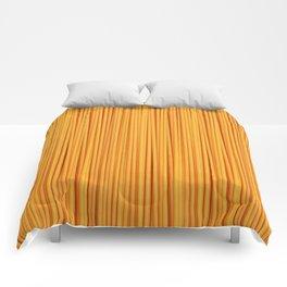 Spaghetti, pasta texture Comforters