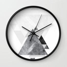 GEOMETRIC SERIES II Wall Clock
