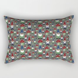 Rollin with my Gnomies Rectangular Pillow
