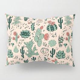 Succulent Desert Pillow Sham