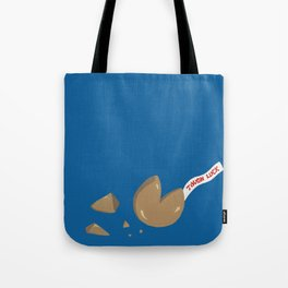 'Tough Luck' Fortune Cookie Pun Tote Bag