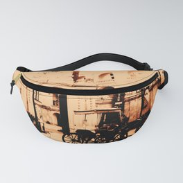 Horse and Carriage Fanny Pack