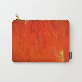 Rustic Orange Home Decor - Comforters - Tapestry - Pillows - Rugs - Shower Curtains Carry-All Pouch