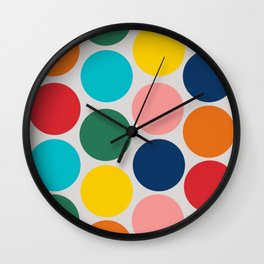Mary Poppins Returns balloons graphic Wall Clock
