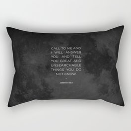 Call To Me Rectangular Pillow