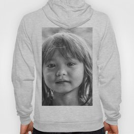 Portrait_The Malaysian borneo native kid Hoody
