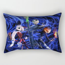 Nightmare Of Shadow Rectangular Pillow