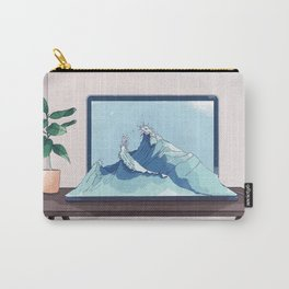 Screen wave Carry-All Pouch