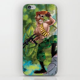 Going Commando iPhone Skin