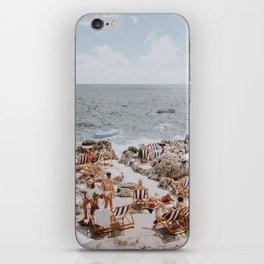 capri, italy iPhone Skin