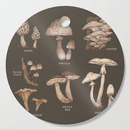 Mushrooms Cutting Board