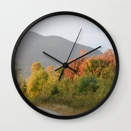 """""""Country Roads"""" Wall Clock"""