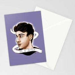 Luke Brooks artwork Stationery Cards