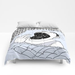Man and the Cosmos . Home Decor Comforters