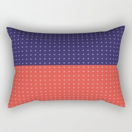 ++ Cross ++ Rectangular Pillow