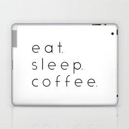 EAT SLEEP COFFEE Laptop & iPad Skin