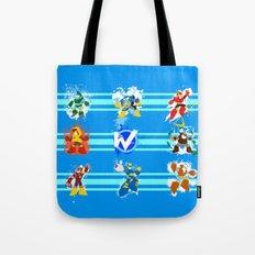 Robot Masters of Mega Man 2 Tote Bag