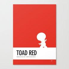 No41 My Minimal Color Code poster Toad Canvas Print