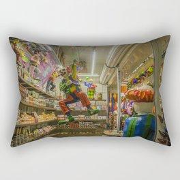 Mexican Market Rectangular Pillow