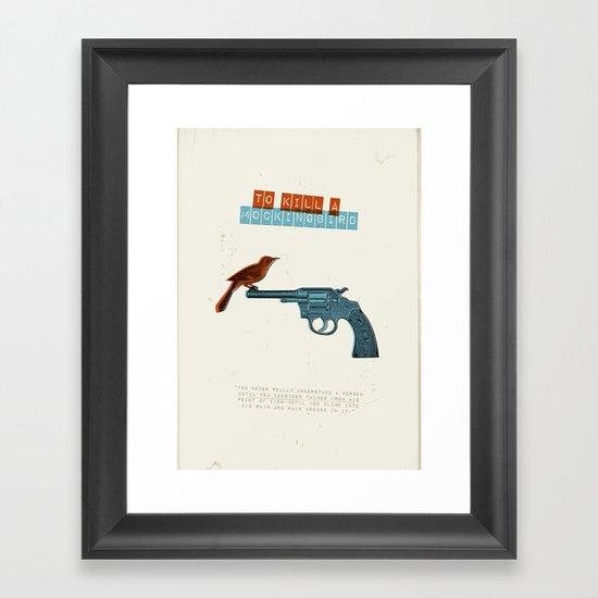 To Kill a mocking bird Framed Art Print