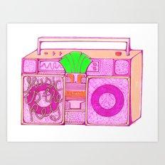 Stereos. Art Print