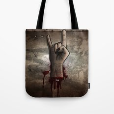 The Rocking Dead Tote Bag