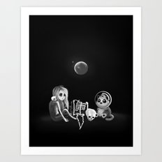 If I had a home to come back to Art Print