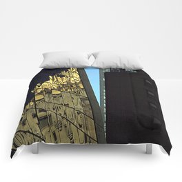 Reflections of New York City Comforters