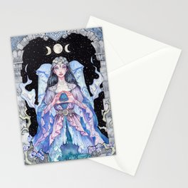 Goddes of the Moon Stationery Cards