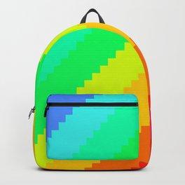 Pixel Rainbow Dreams Backpack