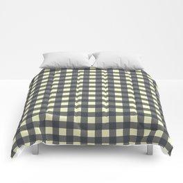 CHARCOAL CHECK Comforters