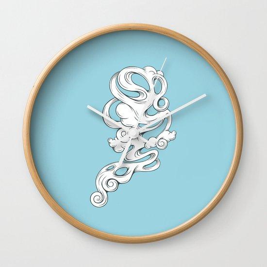 Cirrus///1 Wall Clock