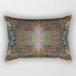 Nebulous Portal Emergence (Electric Gateway) (Reflected) Rectangular Pillow