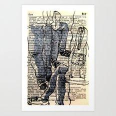Pocket Sized Dictionary - 2 Art Print