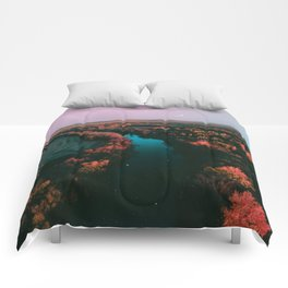 north dakota fall Comforters