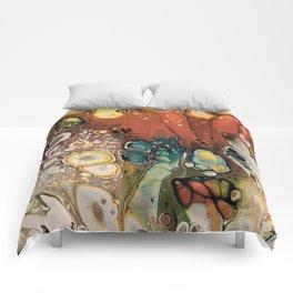 Autumn leaf colors Comforters