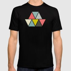 Triangulum MEDIUM Mens Fitted Tee Black