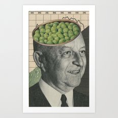 Son Of Pea Brain Art Print