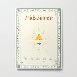 Midsommar Movie Poster Metal Print