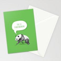 Panda Pun Stationery Cards