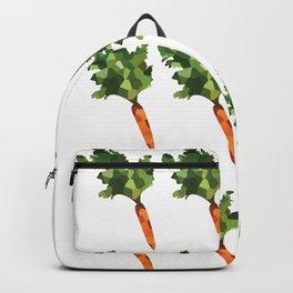 carrot 4x4 pattern, fill, repeating, tiled | elegant Backpack