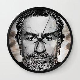 Robert De Niro - Caricature Wall Clock