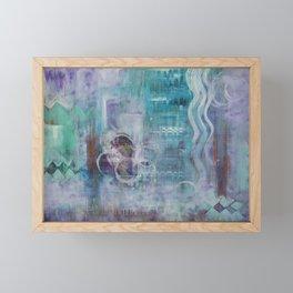 Living in the Mystery Framed Mini Art Print
