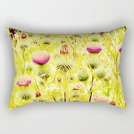 Vintage Thistles Rectangular Pillow