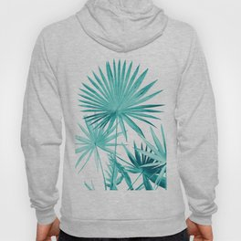 Fan Palm Leaves Jungle #3 #tropical #decor #art #society6 Hoody