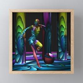 Flee Framed Mini Art Print