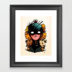 Guardians of the Woods (Color Version) Framed Art Print