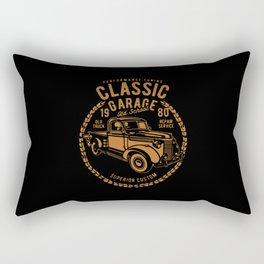 classic garage Rectangular Pillow