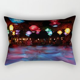 Mad Tea Rectangular Pillow